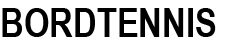 Bordtennis Logo